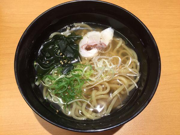 「鯛だし塩ラーメン」@スシロー 浦和中尾店の写真