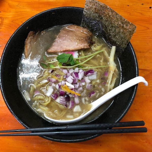 「特製中華そば 塩」@中華蕎麦 みやまの写真