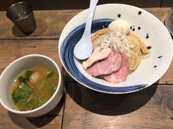 「真鯛のつけ麺 塩 中盛」@麺屋 翔 みなとの写真