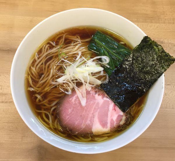 「醤油らぁめん(並)700円」@麺処 有彩の写真