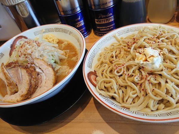 「大つけ麺」@ラーメン豚山 東長崎店の写真