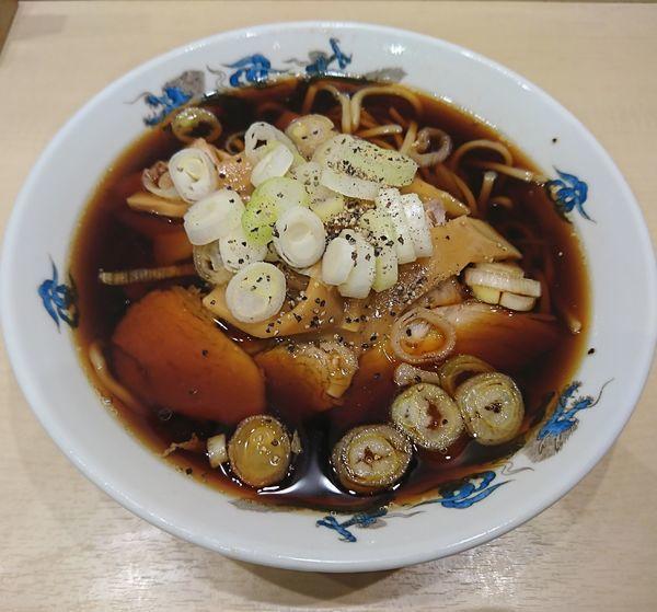 「中華そば(小)750円」@西町大喜 とやマルシェ店の写真