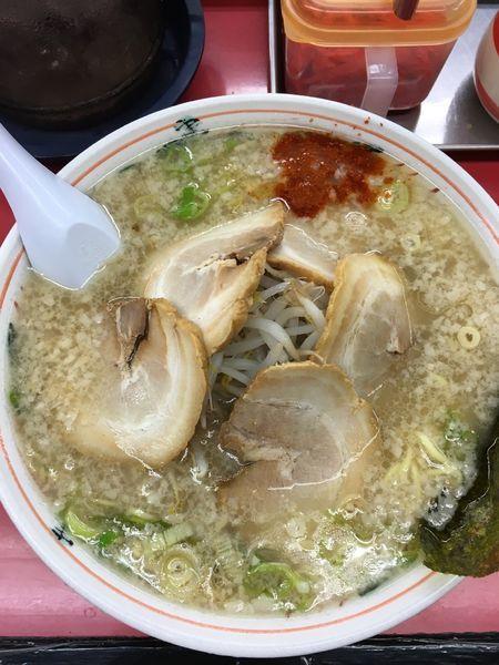 「チャーシュー麺 大盛り」@MURAYAMAホープ軒 本店の写真
