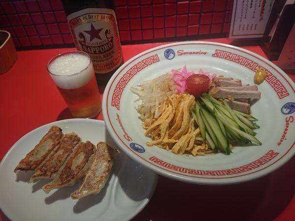 「【夏季限定】冷やし中華 他」@ソラノイロ食堂の写真
