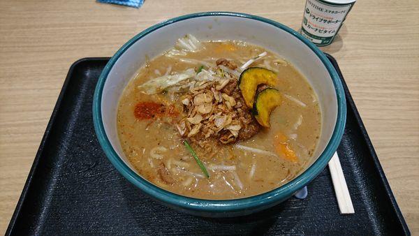 「甲州味噌ラーメン」@蔵出し味噌 麺場 田所商店 談合坂サービスエリア店の写真