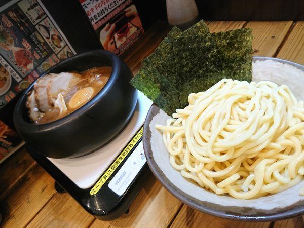 「ドロドロ超濃厚つけ麺(全部入り)¥1140」@あびすけ 東山田店の写真