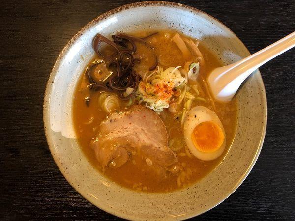 「熟成濃厚味噌麺」@まんてん 原町店の写真