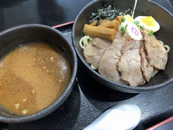 「チャーシューつけ麺」@麺屋 武嶋屋の写真
