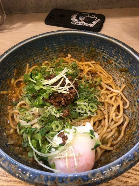 「1辛 太麺」@八玄八角の写真