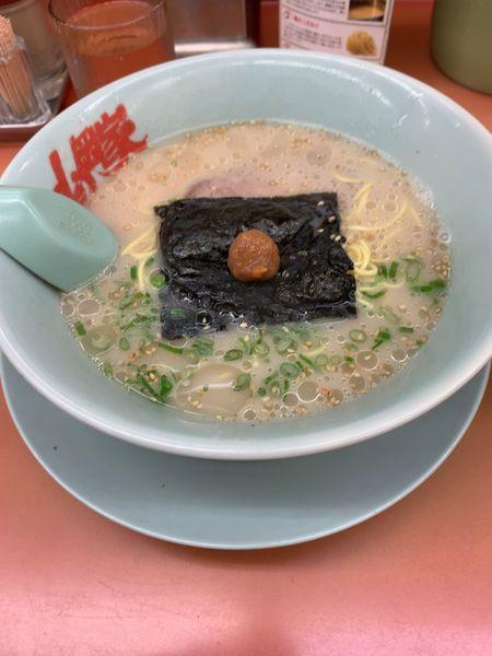 「朝ラーメン+替え玉」@ラーメン山岡家 熊谷店の写真