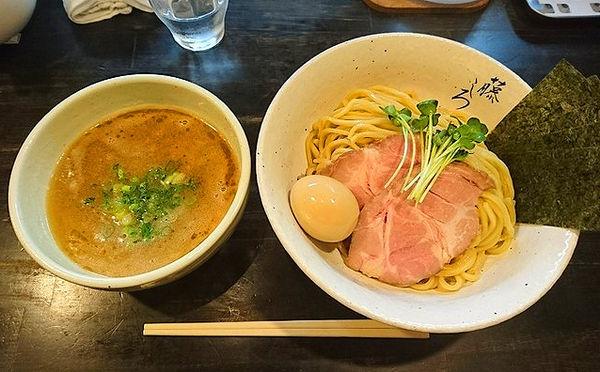 「鶏白湯つけ麺」@麺屋 藤しろ 三軒茶屋店の写真