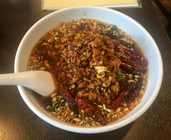 「台湾ピリ辛汁麺 1000円」@中国料理 桜花亭の写真