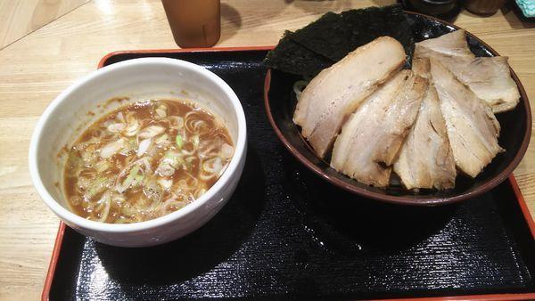 「特製つけ麺+チャーシュー」@麺屋 睡蓮の写真