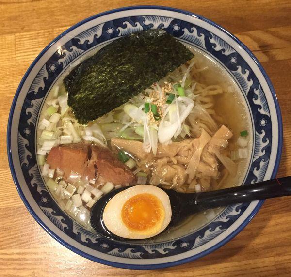 「ひのでやラーメン900円」@和風楽麺 四代目 ひのでや 大宮店の写真