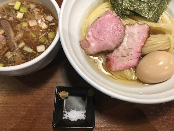 「特製 昆布水の淡麗鴨つけ麺」@麺処 はら田の写真