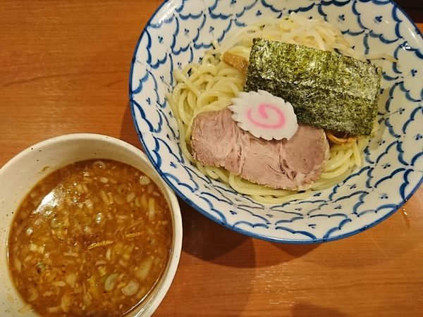 「味噌つけめん(900円)」@麺恋処 いそじの写真