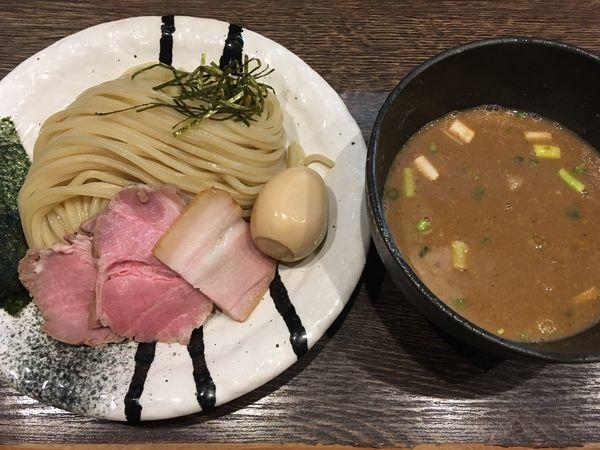 「特製つけ麺(柚子)」@麺処 景虎 戸塚安行店の写真