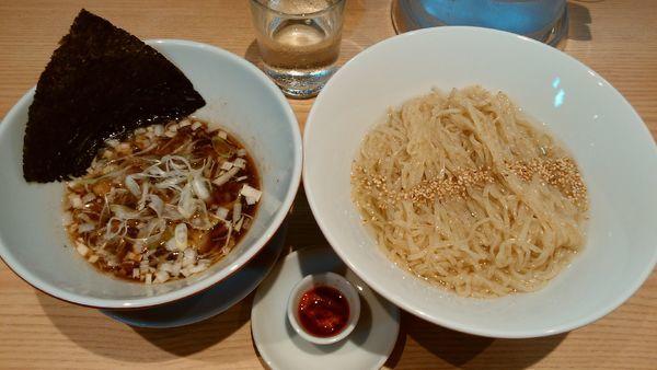 「昆布つけ麺¥900-」@初代葱寅 御茶ノ水店の写真