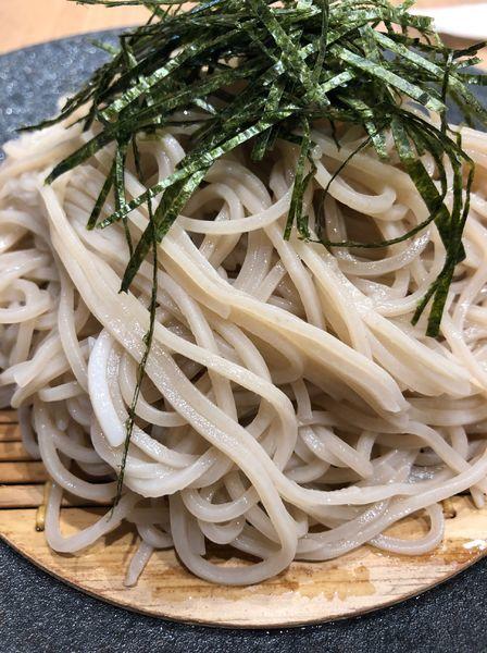 「ざる蕎麦」@DASHIとSOBA水車 エキエ広島店の写真