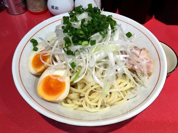 「冷やし鶏塩ラーメン 大盛」@蒲田ラーメン K家 蒲田本店の写真