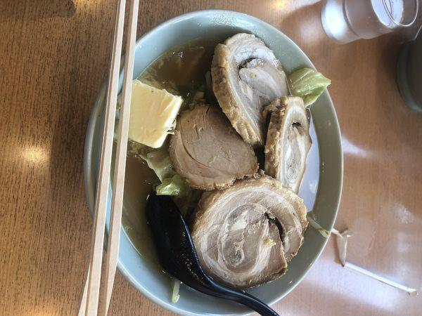 「味噌ラーメン チャーシュー3枚」@サッポロラーメン マリモ 福野店の写真