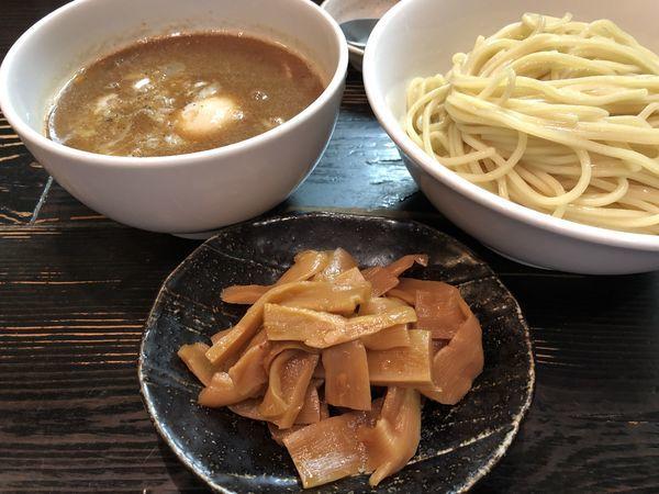 「味玉つけ麺メンマ」@麺屋 和利道 waritoの写真
