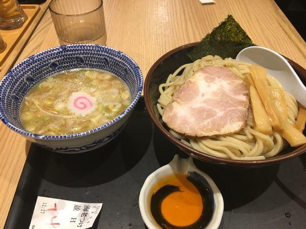 「海老つけめん」@舎鈴 有楽町新東京ビル店の写真
