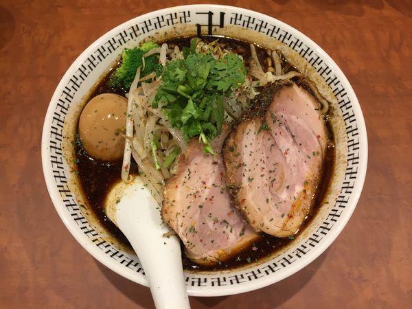 「スパイス・特製ラー麺」@スパイス・ラー麺 卍力 秋葉原店の写真