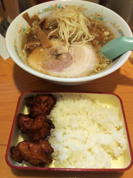 「Aセット 唐揚げ弁当¥760」@静雨庵の写真