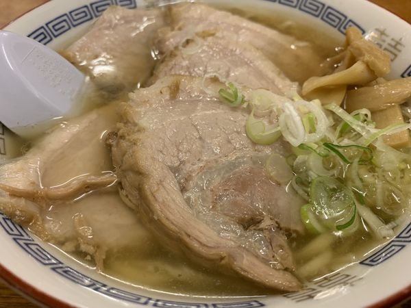 「チャーシュー麺(半ラーメン)」@森田屋 東店の写真