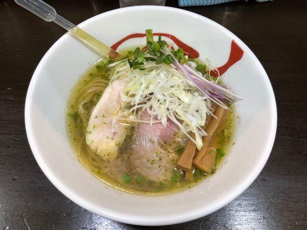 「青唐の塩+辛さ追加」@麺や 魁星の写真