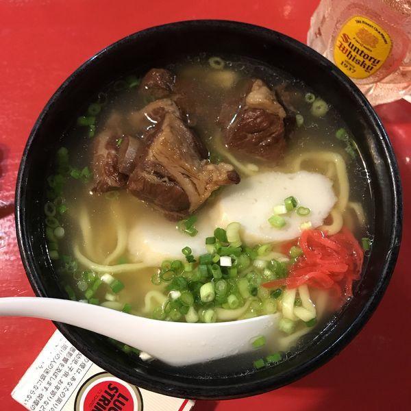 「ソーキそば」@沖縄料理 かなぐすくの写真