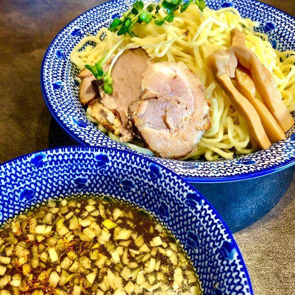 「淡麗煮干しつけ麺750円」@中華そば 富士鹿の写真