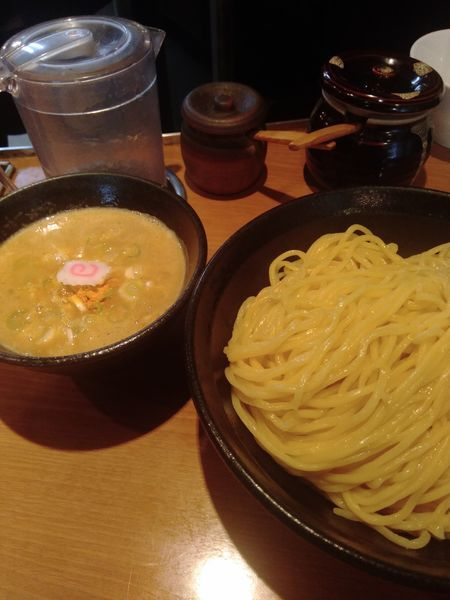 「鶏白湯つけ麺」@吉虎 東京 KICHITORA TOKYO 渋谷本店の写真