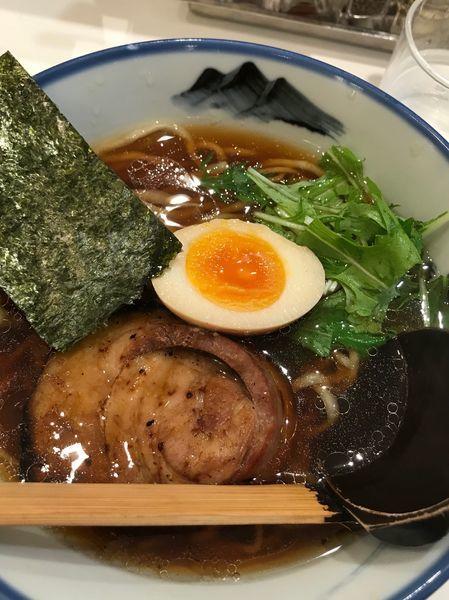「醤油ラーメン」@AFURI 新宿店の写真