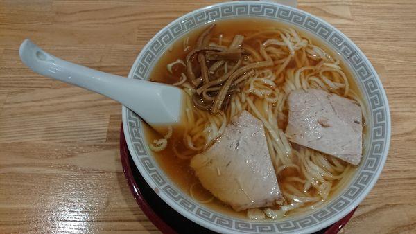 「中華そば 650円」@新京亭の写真