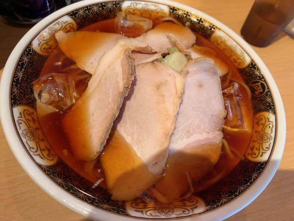 「冷やし煮干そば880円」@すごい煮干ラーメン凪 新宿ゴールデン街店 別館の写真