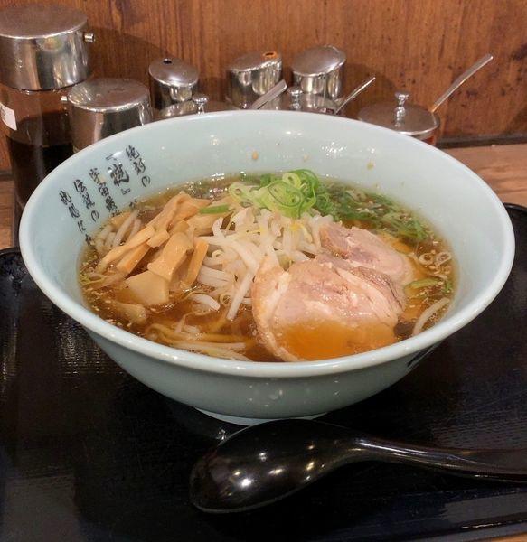 「醤油ラーメン」@伝説のすた丼 千葉富士見店の写真