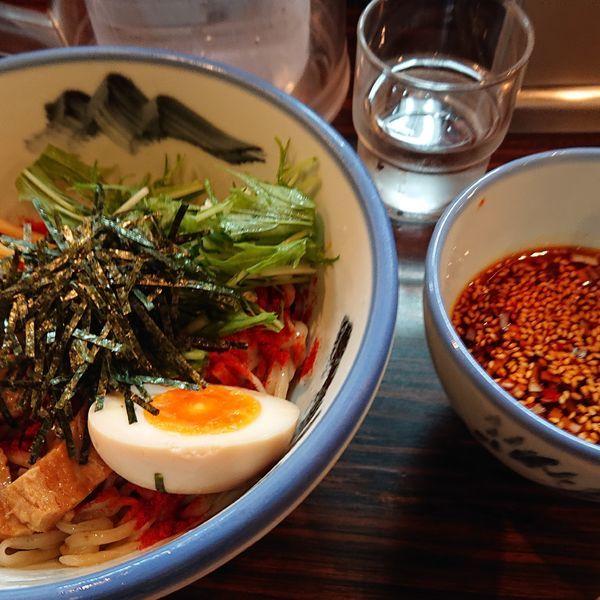 「辛味つけ麺」@AFURI 恵比寿の写真