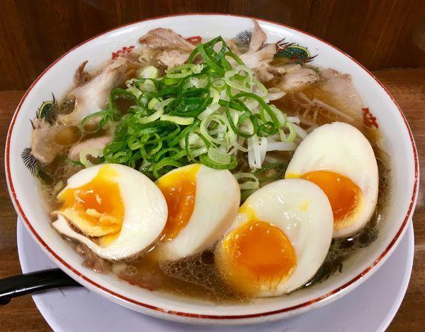 「チャーシュー麺」@第一旭 新宿店の写真