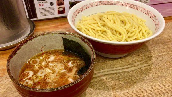 「つけ麺 [中盛り]」@つけ麺屋 やすべえ 新宿店の写真
