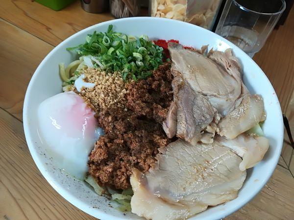 「8/21 特製汁なし担々麺(大)1,100円」@自家製麺 てんかの写真