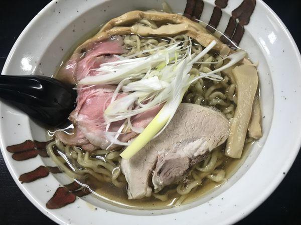 「らーめん」@自家製麺 結びの写真