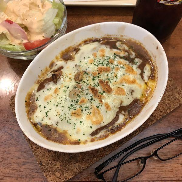 「焼きカレードリア」@ドトールコーヒーハウス 立川南口店の写真
