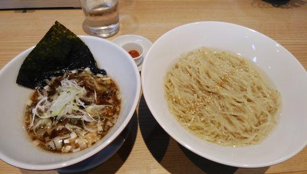 「特製つけ麺900円」@初代葱寅 御茶ノ水店の写真