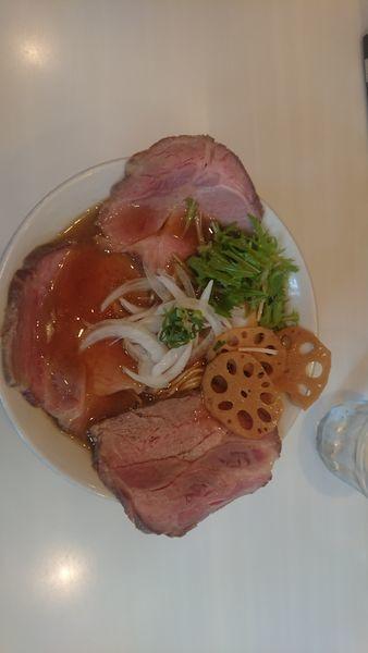 「特製醤油そば」@麺や 彩~iro~の写真