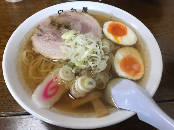 「チャーシュー麺」@青竹手打ちラーメン 日向屋の写真