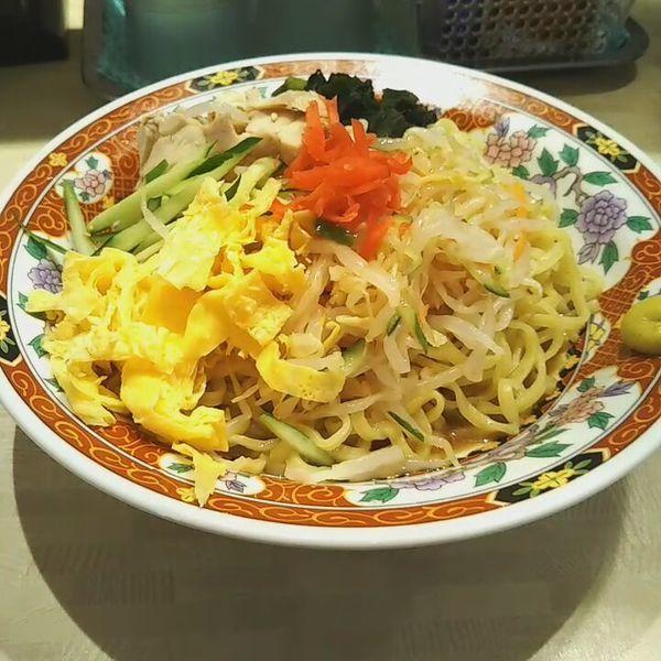 「五目冷し中華」@中華食堂 一番館 新宿歌舞伎町店の写真