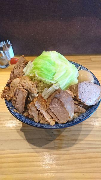「背あぶら野菜ラーメン」@中華蕎麦 つけ麺 五味五香の写真