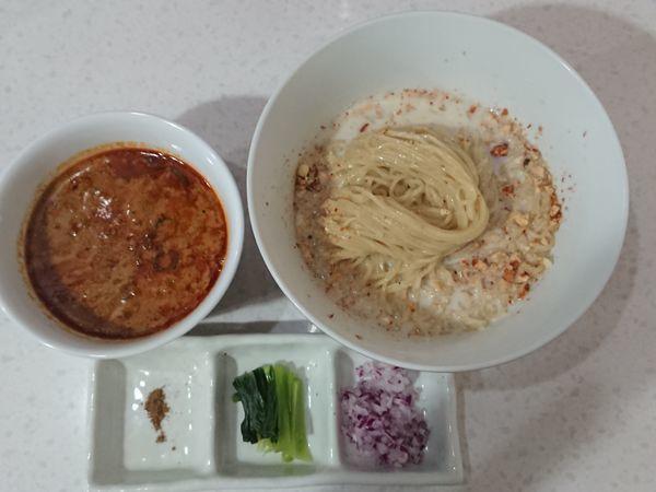 「担々つけ麺」@ラーメン星印の写真